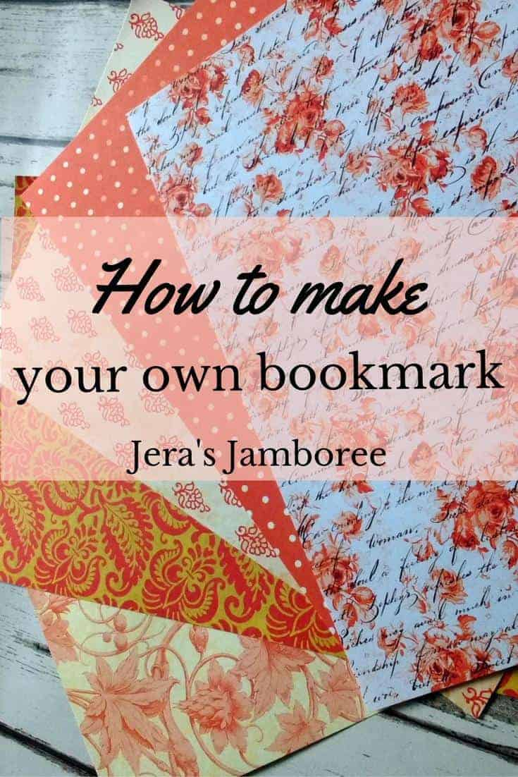 How to make your own bookmark
