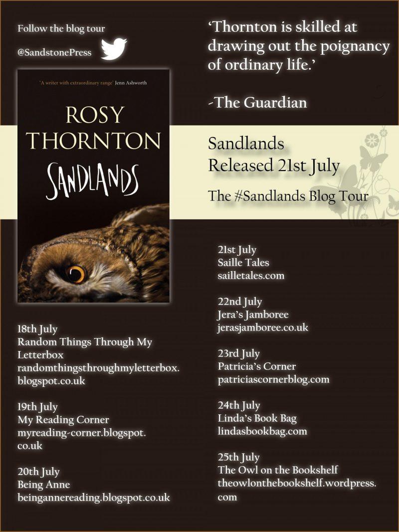 Sandlands Blog Tour Twitter