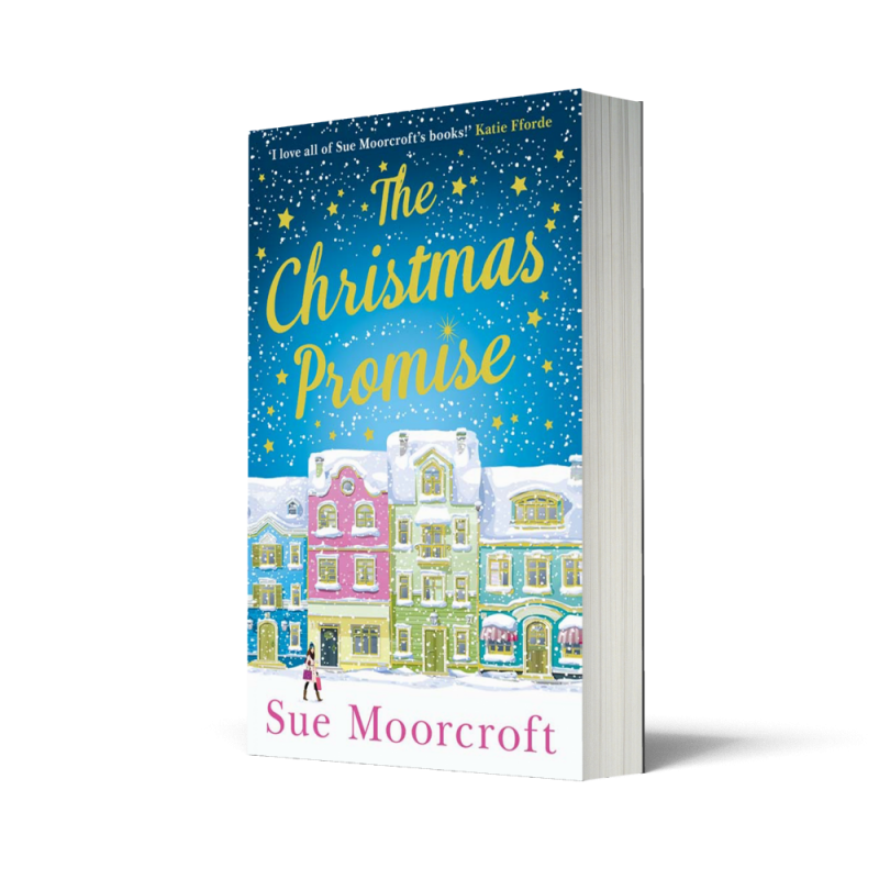 Book cover The Christmas Promise by Sue Moorcroft