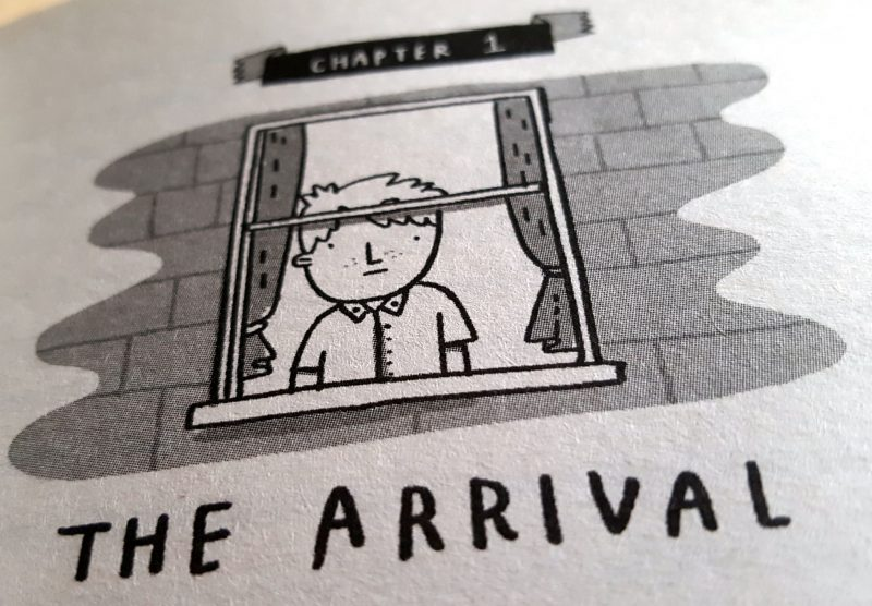 Image from Chapter 1 of the Goldfish Boy by Lisa Thompson