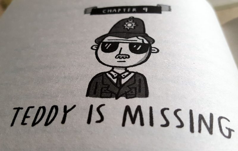 Image from Chapter 9 of The Goldfish Boy by Lisa Thompson