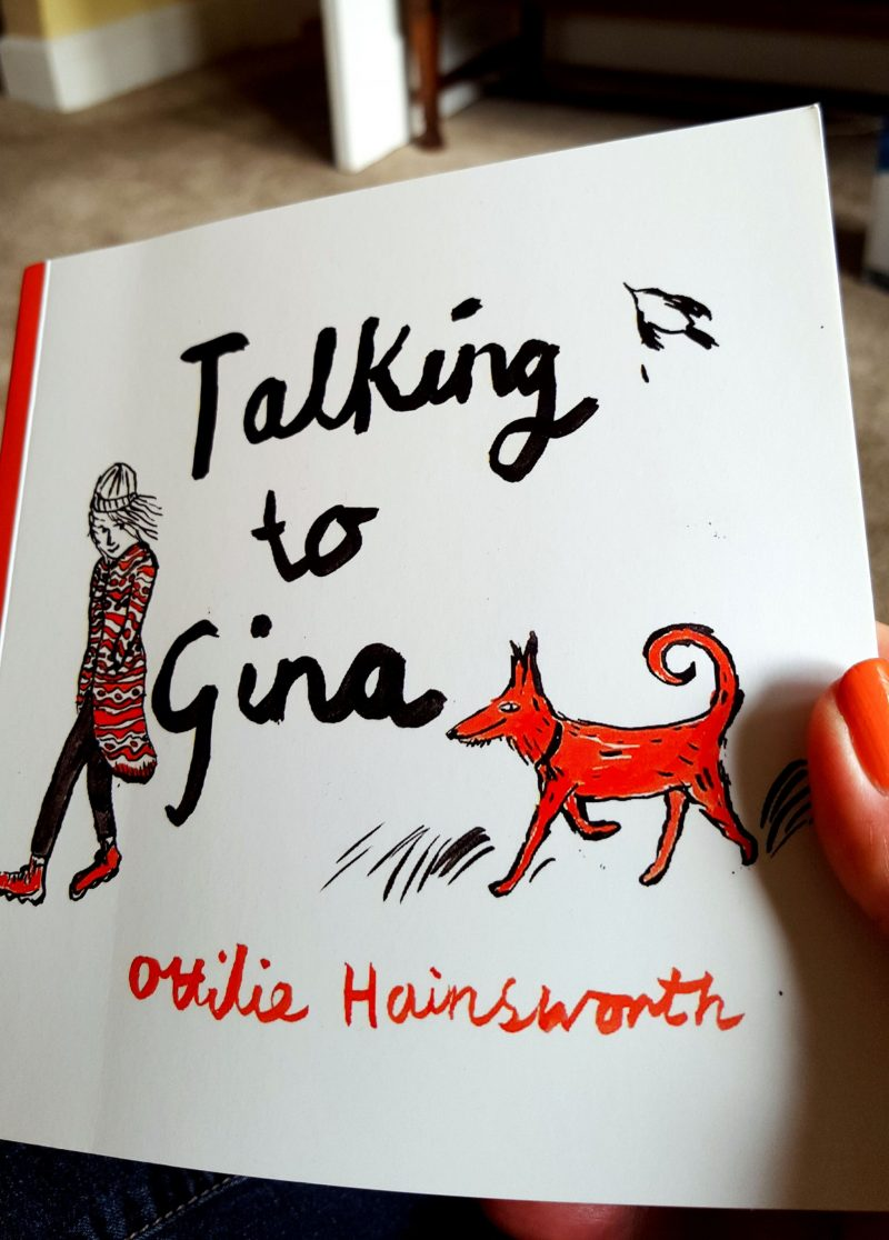 Book cover Talking to Gina Ottilie Hainsworth