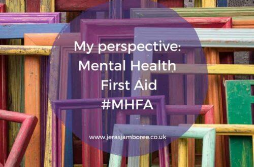 Mental Health First Aid #MHFA