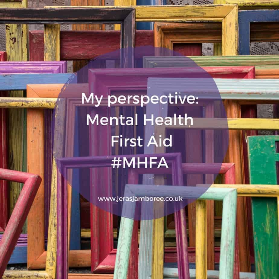 Mental Health First Aid #MHFA