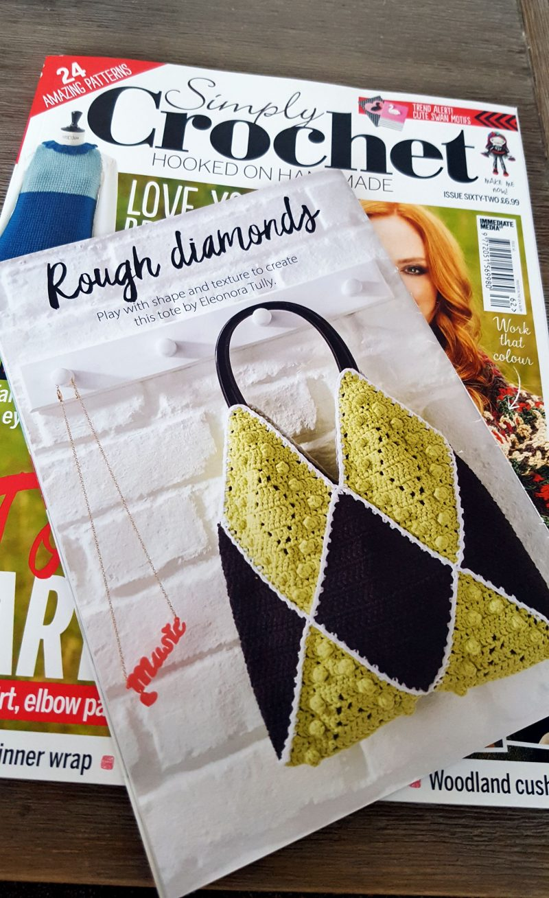 rough diamonds tote