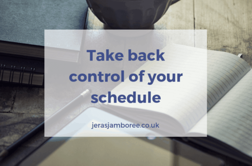 How to take back control of your life