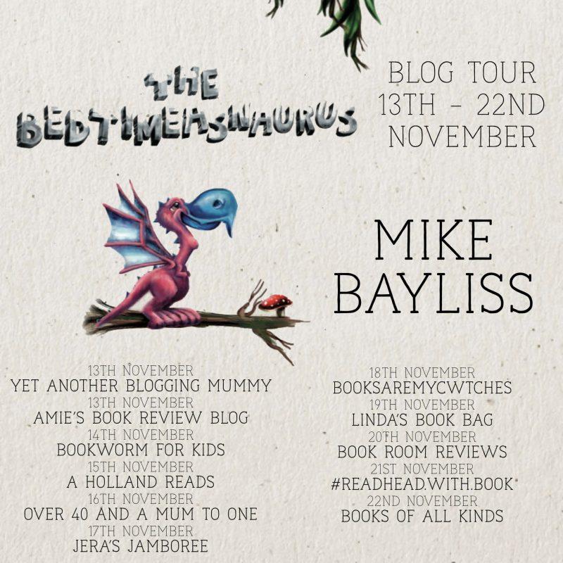 The Bedtimeasnauras Mike Bayliss