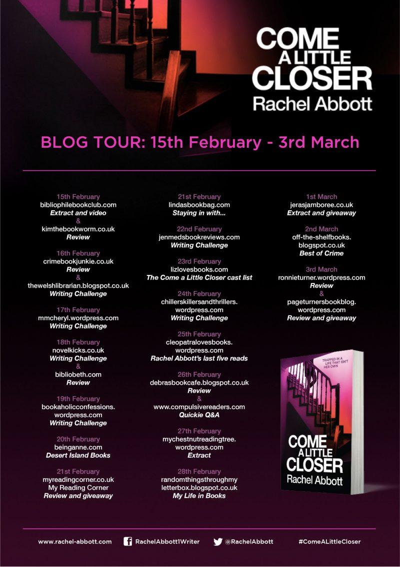 Come a Little Closer Rachel Abbott