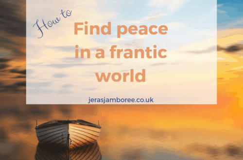 How to find peace in a frantic world