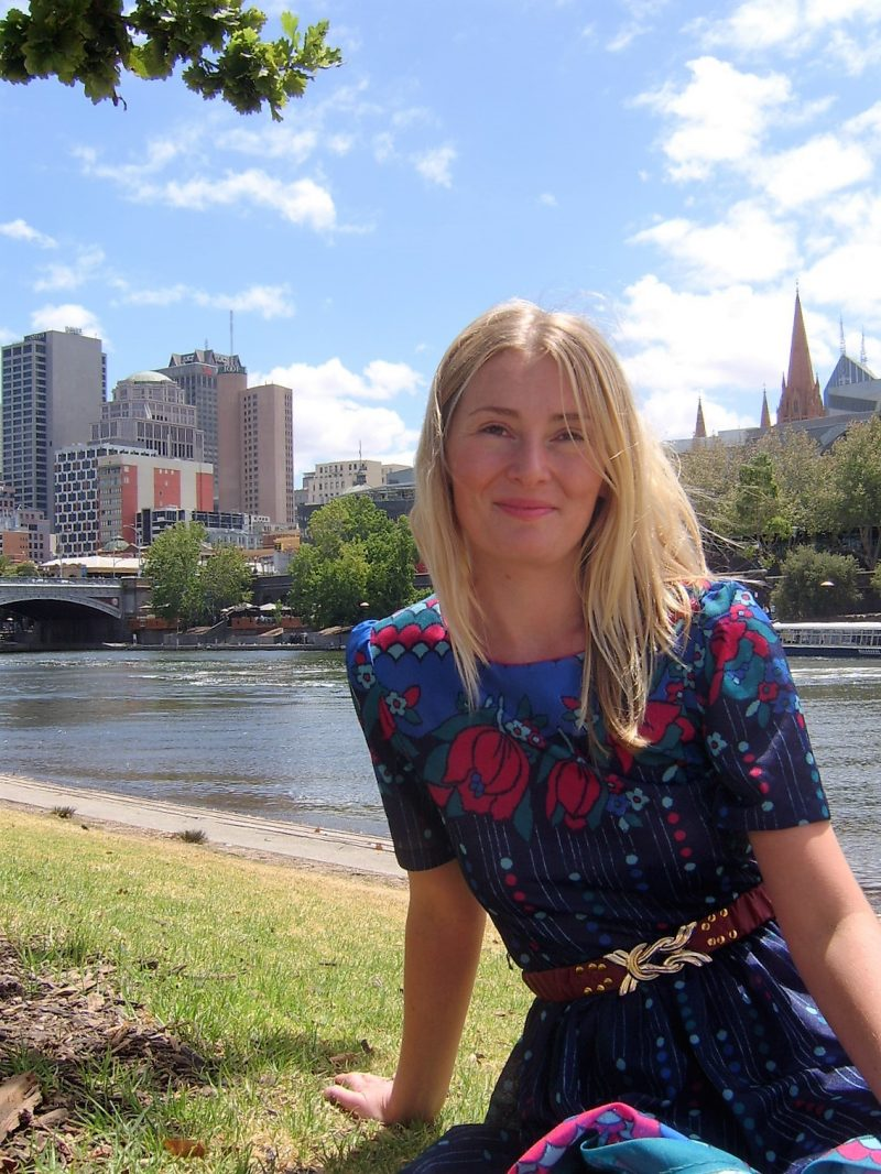 Magdalena McGuire winner of 2016 Impress Prize for new writers