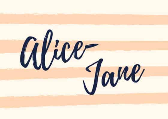 Alice-Jane guest reviewer on Jera's Jamboree