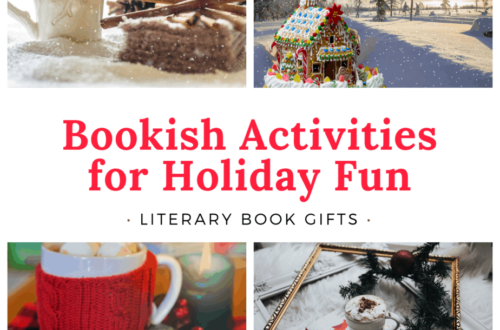 Bookish Activities for Holiday Fun Literary Book Gifts