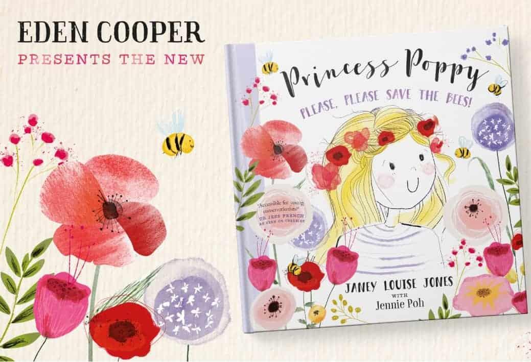 Princess Poppy Please Please Save the Bees Janey Louise Jones