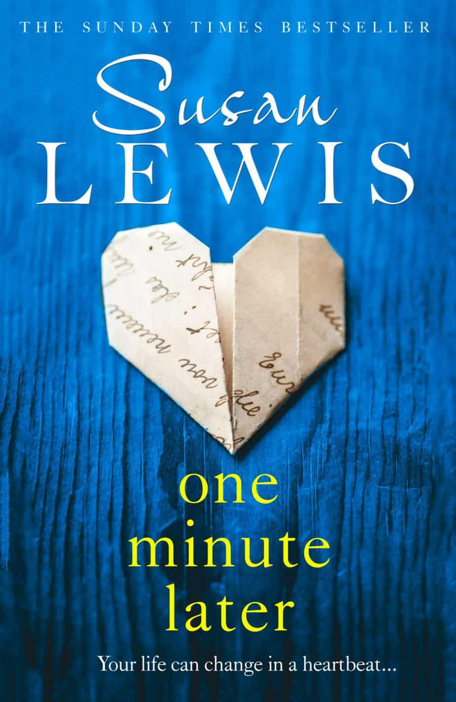 book cover One Minute Later Susan Lewis
