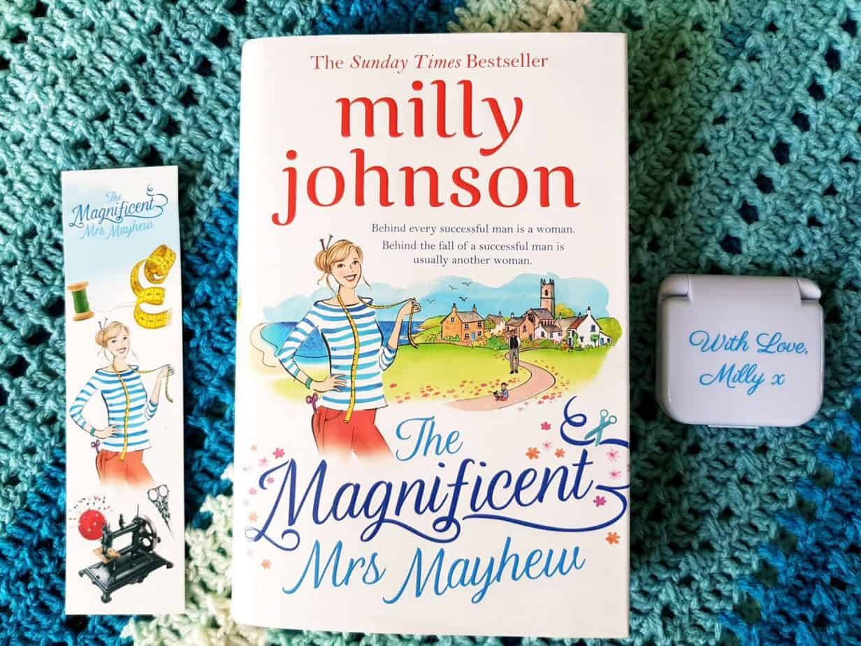 Book cover The Magnificent Mrs Mayhew by Milly Johnson