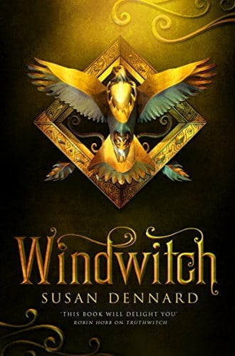 Book cover Windwitch by Susan Dennard