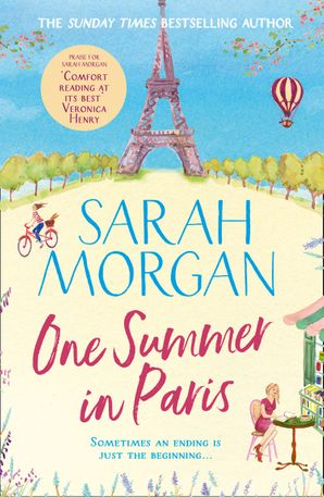 One Summer in Paris by Sarah Morgan (book cover)