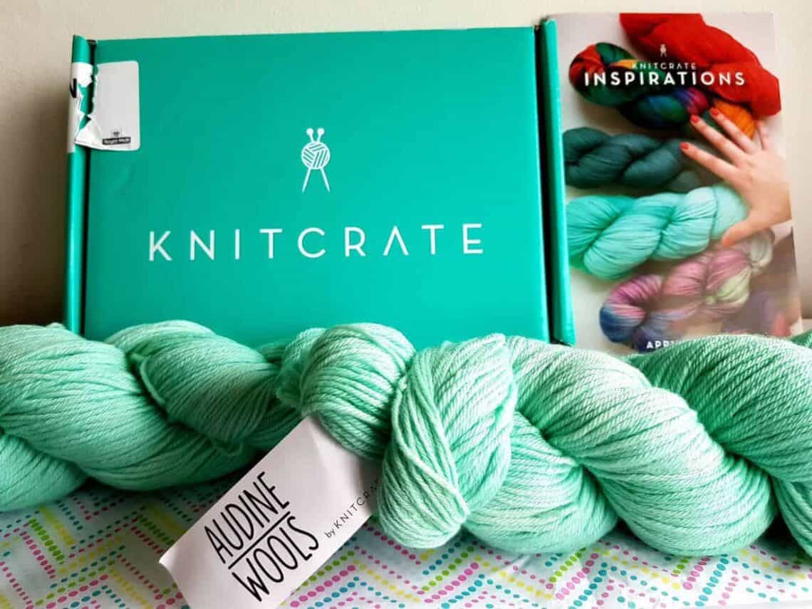 Knitcrate subscription box contents