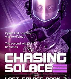 Book cover Chasing Solace Karl Drinkwater