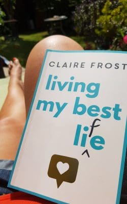Reading in the sun Living my Best Life by Claire Frost