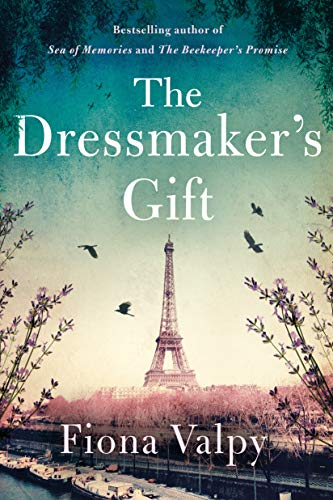 Book cover for The Dressmaker's Gift by Fiona Valpy