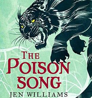 Book cover The Poison Song by Jen Williams