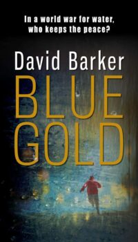 Book cover Blue Gold by David Barker