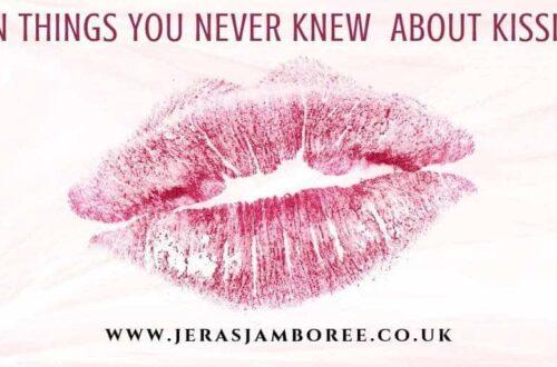 puckered pink lips