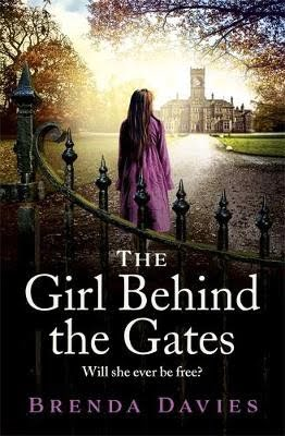 Book cover for The Girl Behind the Gates by Brenda Davies