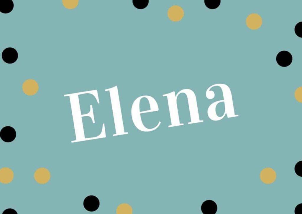 Elena's author image