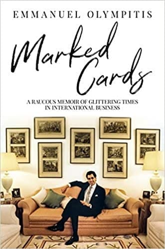 Book cover Marked Cards by Emmanuel Olympitis