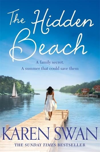 Book cover The Hidden Beach by Karen Swan