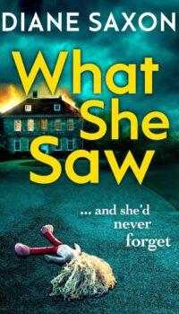 Book Cover What She Saw Diane Saxon