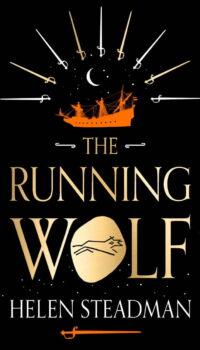 Book cover The Running Wolf by Helen Steadman