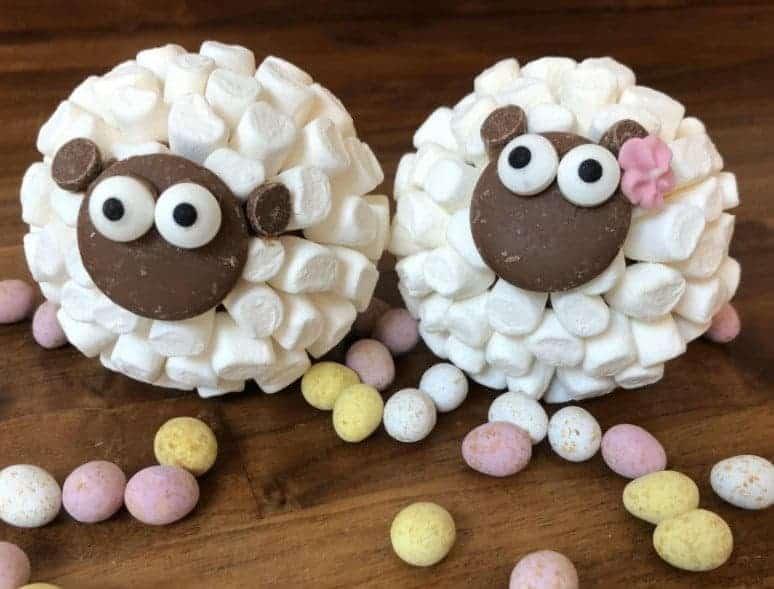 Hot Chocolate Sheep Bombs
