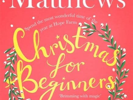 Book cover for Christmas for Beginners by Carole Matthews