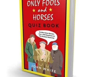 book cover for The Only Fools and Horses Quiz Book by John White