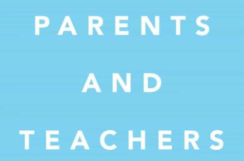 book cover for Parents and Teachers by Sara Madderson