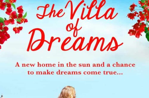 Book cover for The Villa of Dreams by Lucy Coleman