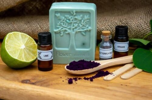 Oils and equipment needed to make eco soap