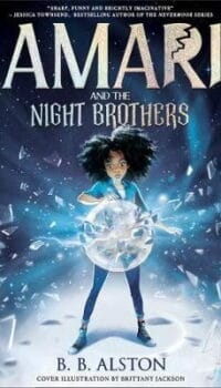 Book cover for Amari and the Night Brothers by BB Alston