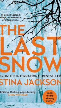 book cover for The Last Snow by Stina Jackson