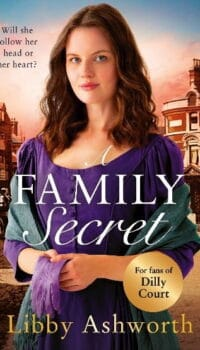 book cover for A Family Secret by Libby Ashworth