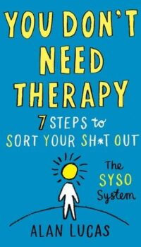 Book cover You Don't Need Therapy Alan Lucas