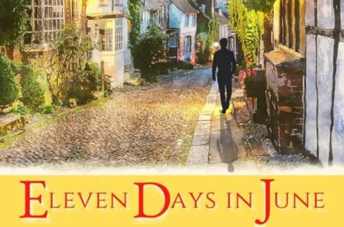 book cover for Eleven Days in June by Rupert Colley