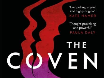 book cover for The Coven by Lizzie Fry